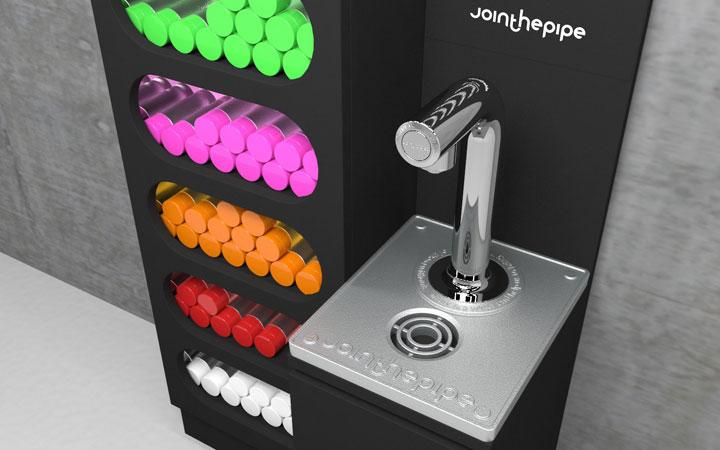 Ontwerp voor kraanwater display voor Join the Pipe