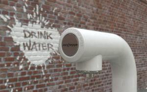 Ontwerp drinkwater tappunt in de openbare ruimte voor Join the Pipe