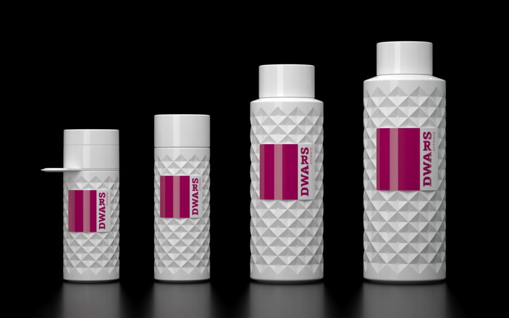 Ontwerp serie herbruikbare waterflessen voor Join the Pipe